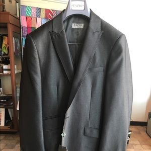 Other - 3pc Grey Sharkskin Fashion Suit